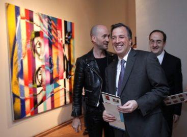 Inauguran la exposición Fauve/Dodecahedron del artista mexicano, Víctor Rodríguez