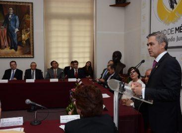 Convoca Mancera a debate nacional sobre salario mínimo; impulsar crecimiento de la economía mexicana, la meta