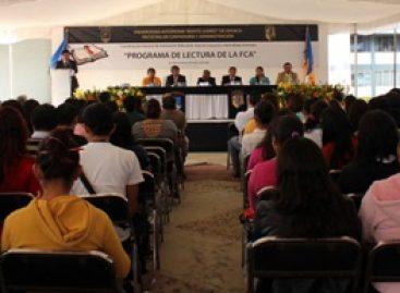 """Inaugura Facultad de Contaduría y Administración de la UABJO """"Programa de Lectura"""""""