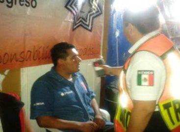 Detenidas 16 personas durante el Operativo Alcoholímetro en Oaxaca de Juárez
