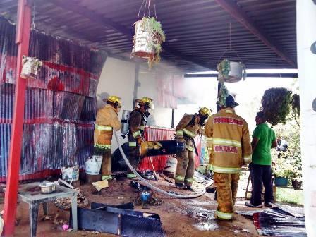 Incendio Oax 3 de Marzo