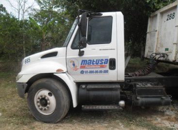 Recupera Policía Estatal tráiler cargado con material de construcción en Matías Romero, Oaxaca