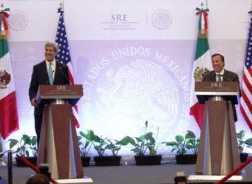Conferencia de prensa del canciller José Antonio Meade y el secretario de Estado de Estados Unidos, John Kerry