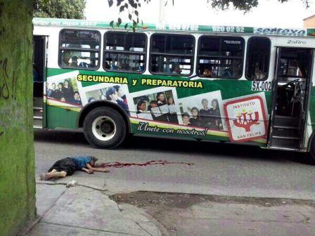 Camión ubano de la línea TUSUG del empresario Filiberto Martínez, da muerte a anciana