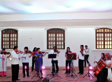 Inolvidable concierto de la familia Urbieta; cierra con broche de oro 482 aniversario de la ciudad de Oaxaca
