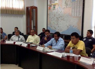 Acuerda Gabinete Metropolitano de Seguridad de Oaxaca, capacitación para topiles y topilas
