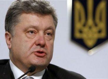 Instruye Poroshenko proteger población en zonas de conflicto