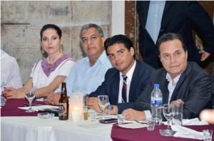 Cena de empresarios chilenos y oaxaqueños