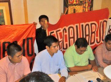 """Respaldará FECAUABJO a los excluidos de la Universidad Autónoma """"Benito Juárez"""" de Oaxaca"""