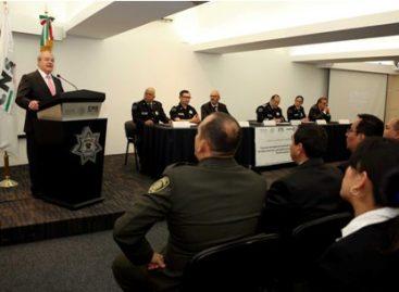 Culminan policías federales curso de instructores en derechos humanos avalado por la ONU