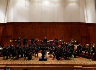 Ofrece Sinfónica de Alientos de la Policía Federal concierto de gala por el 86 aniversario de la corporación