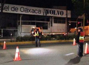 Detenidas 25 personas durante operativos de seguridad en el estado de Oaxaca