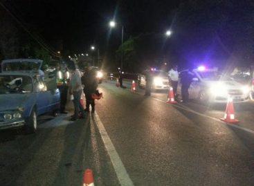 Asegurados nueve conductores en Alcoholímetro; además nueve detenidos por diversos delitos en Oaxaca