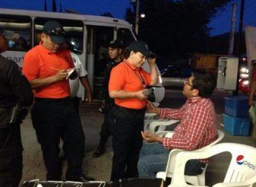 """Detenidas 25 personas en operativos de seguridad en Oaxaca; 19 fueron por no pasar el """"Alcoholímetro"""""""