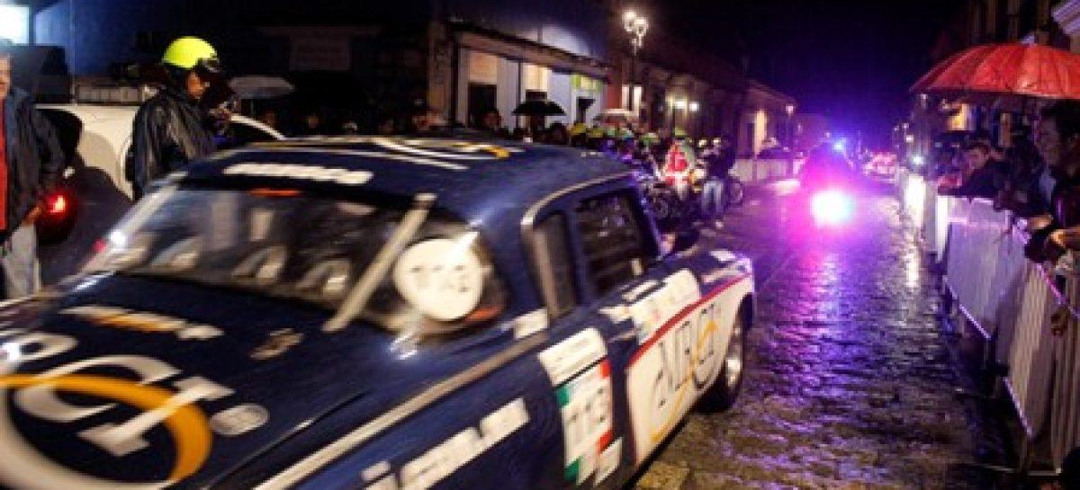 Dan Banderazo De Salida Al Xi Rally Sierra Ju Rez 2014