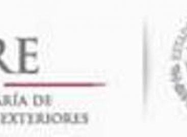 Expresa México condolencias al gobierno y pueblo de Brasil por accidente aéreo en Sao Paulo