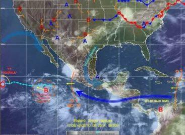 Prevén lluvias con descargas eléctricas en gran parte del territorio nacional