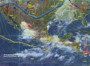 Potencial de lluvias muy fuertes a intensas en estados del sur y sureste del país por onda tropical 24