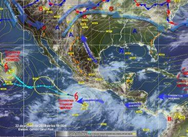 "Prevén que la tormenta tropical ""Marie"" se intensifique a huracán en las próximas horas"