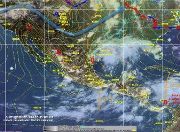 Prevén que se intensificarán las lluvias en Oaxaca, Guerrero y Chiapas en las próximas horas