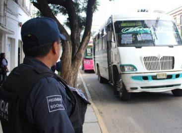 En julio, implementó Comisión de Seguridad Pública Municipal de Oaxaca 542 operativos