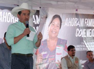 Impulsa gobierno federal en Guanajuato servicios de educación, salud y alimentación por la CNcH