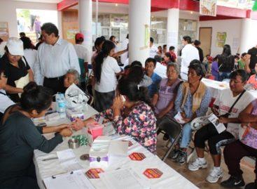 Beneficiados más de Mil 500 oaxaqueños con jornada médica municipal en Pueblo Nuevo, Oaxaca