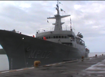 "Regresa de la Paz, Baja California el buque ""Zapoteco"" a Topolobampo, Sinaloa"