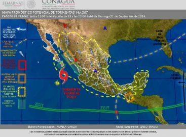 Continuarán lluvias fuertes con actividad eléctrica y mar de fondo en Oaxaca