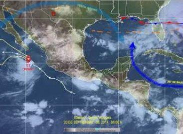 """""""Polo"""" continua como tormenta tropical, se aleja paulatinamente de las costas de Jalisco"""