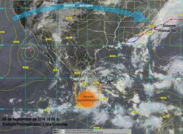 Persisten lluvias por paso de las ondas tropicales 27 y 28; Zona de inestabilidad en el Pacífico
