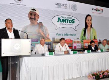 Promueven incorporación de comercios a la formalidad fiscal para hacer crecer negocios, en Oaxaca