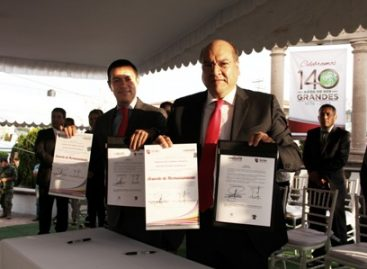 Firman Acta de Hermanamiento Oaxaca de Juárez, Oaxaca, y Rayón, Estado de México