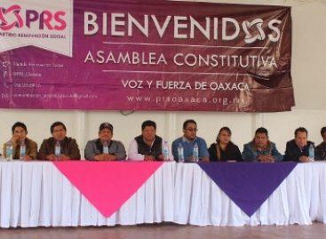 Consejo Político del Partido Renovación Social elige a su dirigencia estatal en Oaxaca