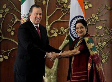Encabezan cancilleres de México e India sexta reunión de la Comisión Binacional