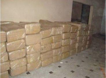 Asegura Policía Federal una tonelada de marihuana en Nuevo León; un detenido