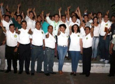 Presentan a integrantes de la Planilla Blanca, Unidad Sindical; Elegirán dirigencia de burócratas, en Oaxaca