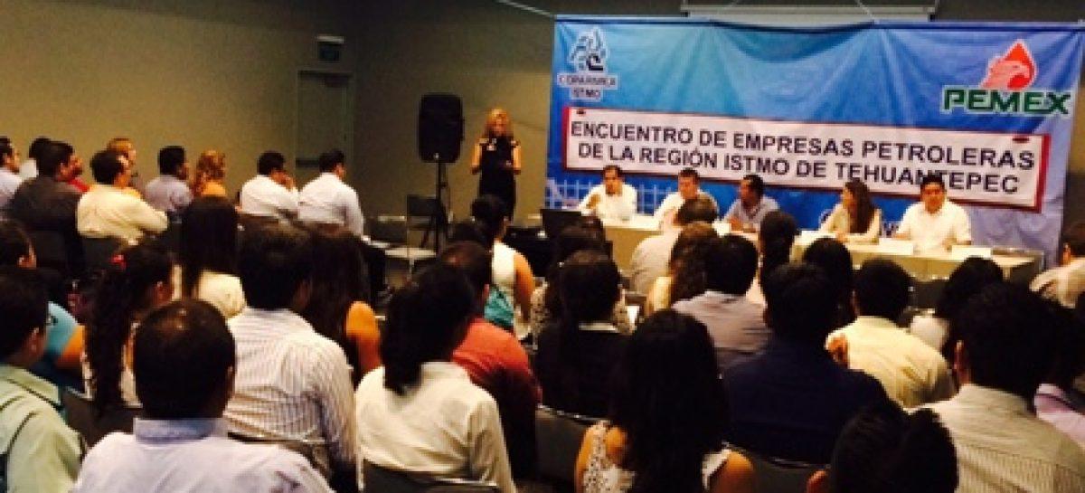 Realizan primer Encuentro de Empresas Petroleras de la Región del Istmo de Tehuantepec