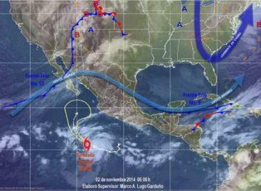 "Provoca Huracán ""Vance"" vientos sostenidos de 130 kilómetros por hora"