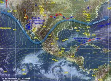 Entrada de humedad del océano Pacífico, Golfo de México y Mar Caribe favorece lluvias ligeras en Oaxaca