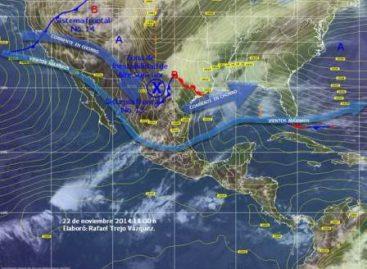 Ingresará el frente frío 14 este domingo por el norte de México
