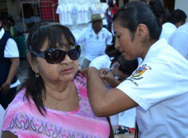 Prevén aplicar cerca de 124 mil dosis de antiinfluenza por temporada invernal en el Istmo de Oaxaca
