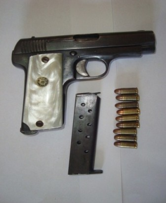Aseguran armas