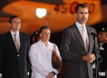 Llegan rey de España y presidentes de España y Costa Rica para Cumbre Iberoamericana