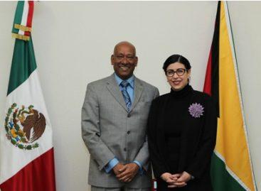 Fortalecen México y Guyana vínculos bilaterales en salud, agricultura e infraestructura