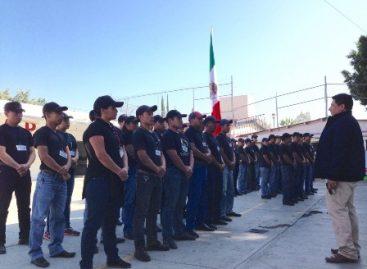 Concluye curso de formación inicial para policías auxiliares en Oaxaca