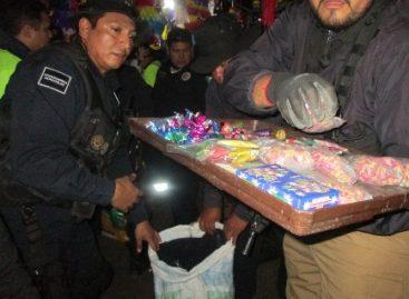 Asegura PGR más de tres toneladas de material pirotécnico en Oaxaca