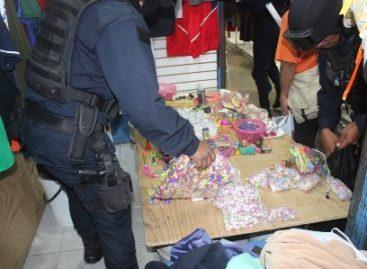 Decomisadas 7.5 toneladas de pirotecnia en el último cuatrimestre en Oaxaca de Juárez