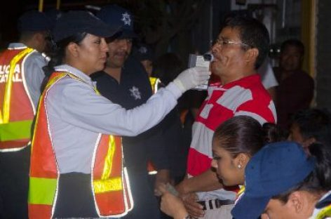 """Activan operativo """"Alcoholímetro"""" este 31 de diciembre y 1 de enero, en Oaxaca"""