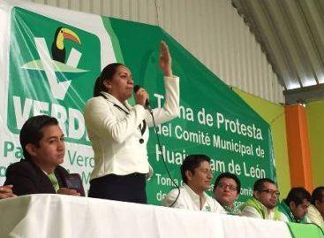 Mujeres y hombres jóvenes del PVEM merecen un mejor destino en favor de Oaxaca: Molina Reyes